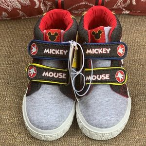 Disney Mickey Mouse Toddler Boys' Sneakers-Size 8